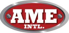 White AME Logo